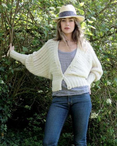 Angel Bat Wing Cardigan